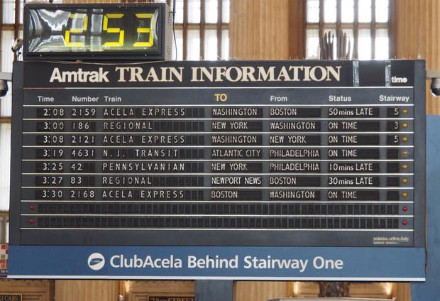 America: where the trains look like submarines