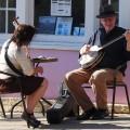 Street musicians of Beacon, Dutchess County, New York, Summer 2014