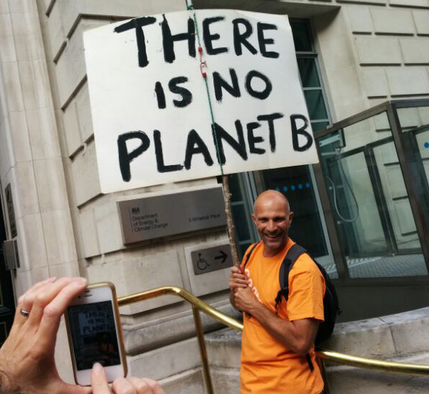Photos of the People's Climate Change march, London, Sun 21st Sept 2014
