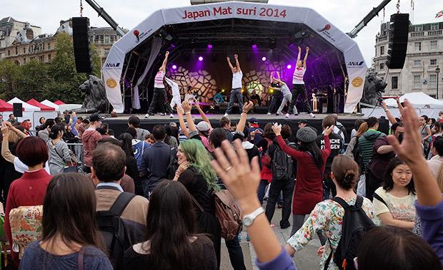 Japan Matsuri 2014 brings the orient to Trafalgar Square, London