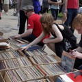 Photos of the Brooklyn Flea Record Fair, Williamsburg, New York, May 2014