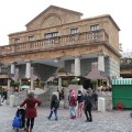 The amazing floating piazza at Covent Garden in photos, as created by Alex Chinneck