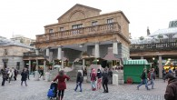 Currently turning heads in Covent Garden is this remarkable structure by the artist and designer Alex Chinneck.
