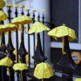 A host of yellow paper umbrellas appeared outside the offices of the Hong Kong Economic and Trade Office in London today, as supporters held a rally in solidarity with the […]