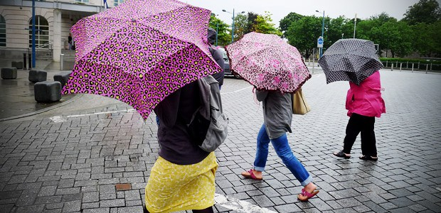 New data released by the Met Office confirms what every long suffering Cardiffian already knows – it's thewettest city in Britain.