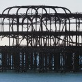 Brighton's West Pier in 2014 - Victorian elegance rusts into the sea