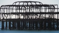 It's heartbreaking to see the skeletal remains of the once-grand Brighton West Pier slowly rusting into theEnglish Channel.