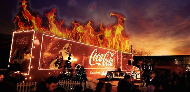 It's been bad enough having irrelevant, commercialised American rubbishlike Black Friday and Cyber Monday thrust upon us Brits, but I really draw the line at this ludicrous Christmas Coca Cola […]