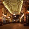 Christmas lights at London's delightful Leadenhall Market
