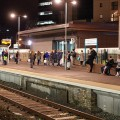 Cardiff Queen Street station - new platform now open