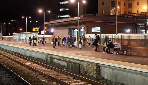 Cardiff Queen Street Railway Station Modernisation Adds