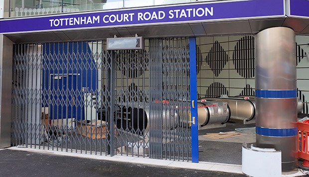 Say goodbye to the old Tottenham Court Road tube station in London