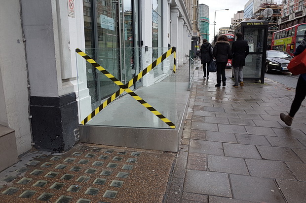 Tottenham Court Road designer fail - in pictures