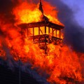 Major fire at Battersea Arts Centre - in photos