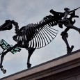 Now the tenth artwork to occupy the fourth plinth in London's Trafalgar Square, Gift Horse presents a skeletal sculpture entwined with an electronic ribbon displaying a live ticker feed from the London Stock […]