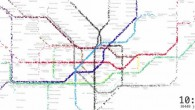 I'm loving this clever animation thatvisualises passenger traffic on the London Undergroundacross the course of a day.