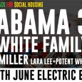 Along with Brixton Buzz we're putting on a big benefit show at the Electric Brixton next month, featuring some amazing acts like the Alabama 3 and the Fat White Family.