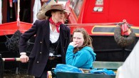 The Canalway Cavalcade is a waterways boaters' annual gathering that has been taking place at Little Venice in north Londonfor over thirty years.
