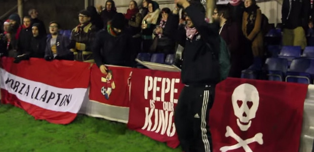 Clapton FC and their passionate Ultras feature in Away Days video