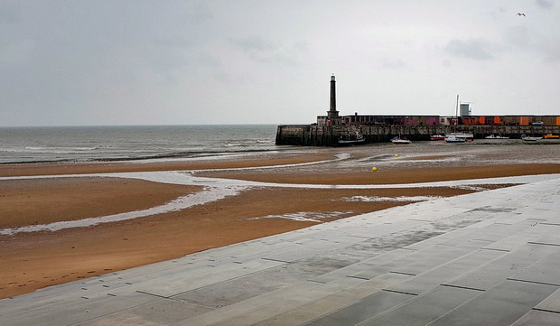 A rainy day in Margate. Photos form a wet and windy May afternoon