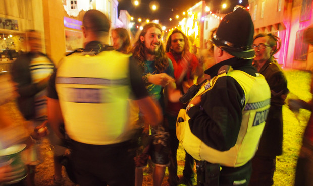 Security, drug searches and festivals - a guide