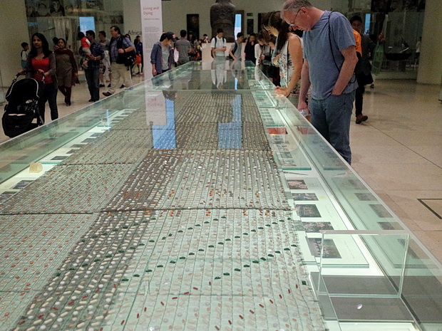 Thousands of pills - Cradle to Grave by Pharmacopoeia at the British Museum