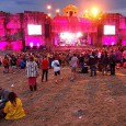The Lion's Den at Boomtown looked even more magnificent this year in its new location in the south east part of the site (see how it looked in 2013 here).