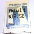 This has been on my pin board since 1999. It's a ticket stub for a trip to the observation deck of the World Trade Center in New York, which would be […]
