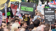Tens of thousands of people walked through central London today, with the Solidarity with Refugees March calling on the British government to be more sympathetic and more effective in their […]