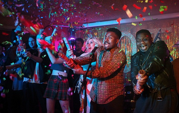 Sparkle galore and an early New Year with Misty Miller, Black Honey & The Near Death Experience at Hackney's Moth Club