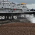 It was mighty wet and mighty windy in Brighton yesterday. Here's a selection of photos from an extra-bracing strut along the seafront.