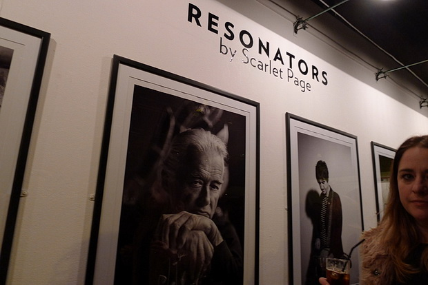 Rock stars revealed in Scarlet Page's 'Resonators' photo exhibition at Proud Camden