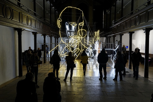 The beautiful LED lights of Brighton: Luminary by Ron Haselden at Fabrica