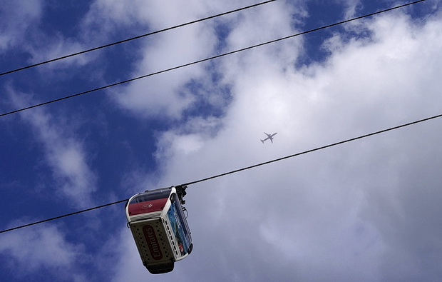 Cable car across London - a return to the Emirates Air Line in East London