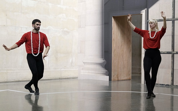 An afternoon of dance performance and art at the Tate Britain, London