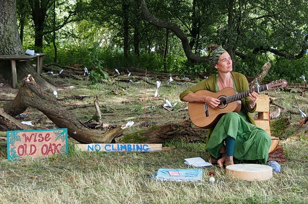 Green Gathering 2016 in photos. Part one: daytime scenes around the site in Chepstow, Wales
