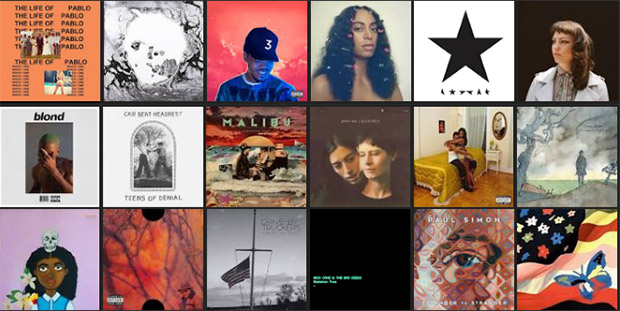 The best 40 albums of 2016 according to urban75