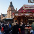 A mighty big Bavarian Christmas Market: December in Aschaffenburg, Germany