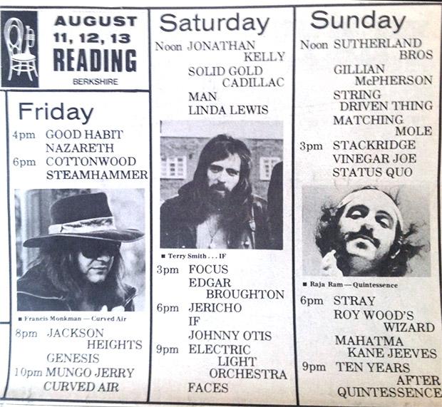 Reading Festival 1972