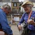 Photos from the Leigh On Sea folk festival: bands, beer, banjos, Morris dancers and street scenes