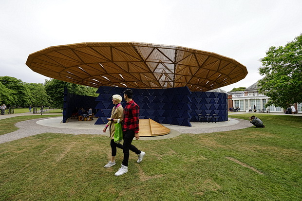 In photos: Serpentine Pavilion 2017, designed by Francis Kéré, Kensington Gardens, London