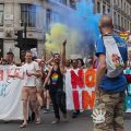London Gay Pride 2017: faces, street scenes and smoke bombs