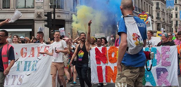 On Saturday, central London was ablaze with the colours of the rainbow as the annual Pride parade matched through the centre of the city.