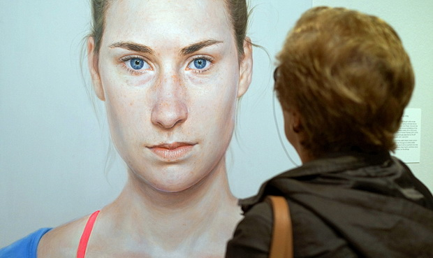In photos: a look around the BP Portrait Award 2017 at the National Portrait Gallery, London