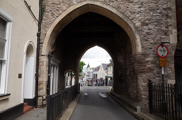 In photos: a look around the streets of Chepstow, south Wales