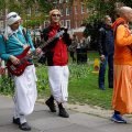 London Soho Square: The Hari Krishna guys go electric