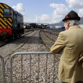 Steam and diesel locomotive delights at Old Oak Common Open Day, Sat 2nd Sept