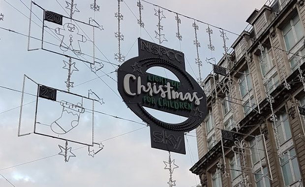 FFS: Christmas decorations go up in London's Oxford Circus at the beginning of OCTOBER!