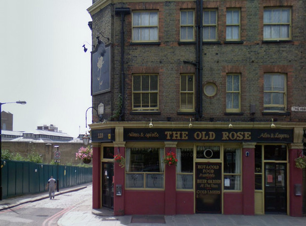 Lost Pubs of London: The Old Rose, The Highway, Wapping E1