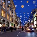 London's West End in November: Wim Wenders, alleyways and a monster bauble - photos
